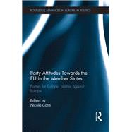 Party Attitudes Towards the EU in the Member States: Parties for Europe, Parties against Europe by Conti; Nicol=, 9781138933750