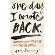 One Day I Wrote Back by Herring, Jane, 9780835813754