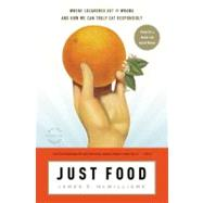 Just Food by McWilliams, James E., 9780316033756
