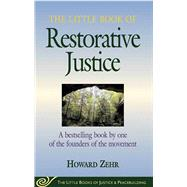 The Little Book of Restorative Justice by Zehr, Howard, 9781561483761