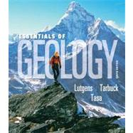 Essentials of Geology by Lutgens, Frederick K.; Tarbuck, Edward J.; Tasa, Dennis, 9780136003762