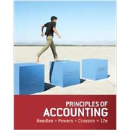 Bundle: Principles of Accounting, 12th + CengageNOW 2-Semester Printed Access Card, 12th Edition by Needles/Powers/Crosson, 9781285573762
