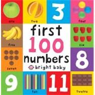 First 100 Board Books First 100 Numbers by Priddy, Roger, 9780312513764