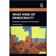 What Kind of Democracy?: Participation, Inclusiveness and Contestation by Vrßblfkovß; Katerina, 9781138653764