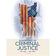 Essentials of Criminal Justice by Siegel/Worrall, 9781305633766