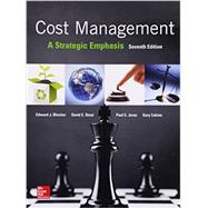 Cost Management: A Strategic Emphasis by Blocher, Edward; Stout, David; Juras, Paul; Cokins, Gary, 9780077733773