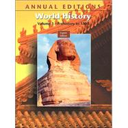 Annual Editions: World History, Volume I, 8/e by Mitchell, Joseph R., 9780073053776