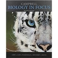 Campbell Biology in Focus; Modified MasteringBiology with Pearson eText -- ValuePack Access Card -- for Campbell Biology in Focus by Urry, Lisa A.; Cain, Michael L., 9780134433776