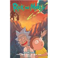 Rick and Morty 4 by Starks, Kyle; Cannon, C. J.; Ellerby, Marc; Hill, Ryan (CON); Farina, Katy (CON), 9781620103777