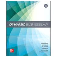 Dynamic Business Law by Kubasek, Nancy; Browne, M. Neil; Barkacs, Linda; Herron, Daniel; Williamson, Carrie; Dhooge, Lucien, 9780078023781