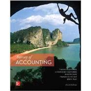 Survey of Accounting; CNCT by Edmonds, Thomas; Olds, Philip; McNair, Frances; Tsay, Bor-Yi, 9781259683787