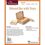 Fine Woodworking's Mitered Box With Trays by Kenney, Matt, 9781631863790