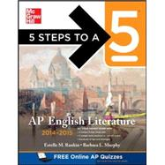 5 Steps to a 5 AP English Literature, 2014-2015 Edition by Rankin, Estelle; Murphy, Barbara, 9780071803793