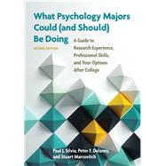 What Psychology Majors Could (and Should) Be Doing by Silvia, Paul J.; Delaney, Peter F.; Marcovitch, Stuart, 9781433823794