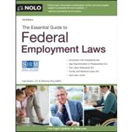 The Essential Guide to Federal Employment Laws by Guerin, Lisa; Delpo, Amy, 9781413313796