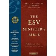 Holy Bible: English Standard Version, Black, Genuine Leather, Minister's Bible by Hendrickson Publishers, 9781598563801