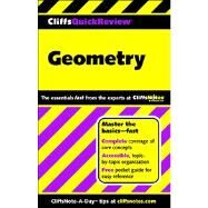 CliffsQuickReview Geometry by Kohn, Edward, 9780764563805