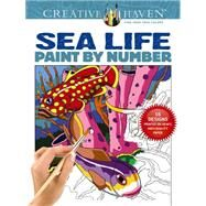 Creative Haven Sea Life Paint by Number by Toufexis, George, 9780486803807