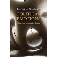 Political Emotions by Nussbaum, Martha C., 9780674503809