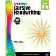Spectrum Cursive Handwriting, Grades 3-5 by Spectrum, 9781483813813