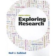 Exploring Research by Salkind, Neil J., 9780205093816