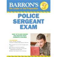 Barron's Police Sergeant Exam by Schroeder, Donald J., 9780764143816