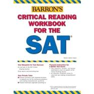 Critical Reading Workbook for the Sat by Weiner, Mitchel, 9780764133817