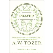 Prayer Communing with God in Everything--Collected Insights from A. W. Tozer by Tozer, A. W.; Seaver, W. L., 9780802413819