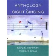 Anth For Sight Singing Pa by Karpinski,Gary, 9780393973822