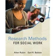 Empowerment Series: Research Methods for Social Work by Rubin/Babbie, 9781305633827