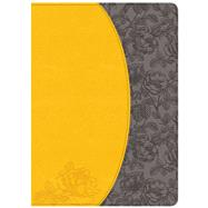 Holman Study Bible: NKJV Edition, Canary/Slate Grey, LeatherTouch by Holman Bible Staff, 9781433643828