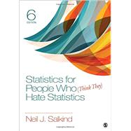 Statistics for People Who (Think They) Hate Statistics by Salkind, Neil J., 9781506333830