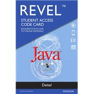 REVEL for Deitel Java -- Access Card by Deitel, Paul J.; Deitel, Harvey, 9780134393834