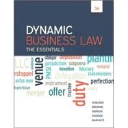 Dynamic Business Law: The Essentials by Kubasek, Nancy; Browne, M. Neil; Herron, Daniel; Dhooge, Lucien; Barkacs, Linda, 9780078023842