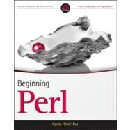Beginning Perl by Poe, Curtis, 9781118013847