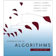 Introduction to Algorithms by Cormen, Thomas H.; Leiserson, Charles E.; Rivest, Ronald L.; Stein, Clifford, 9780262033848