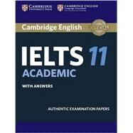 Cambridge IELTS 11 Academic Student's Book With Answers by Cambridge University Press, 9781316503850