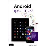 Android Tips and Tricks by Hart-Davis, Guy, 9780789753854