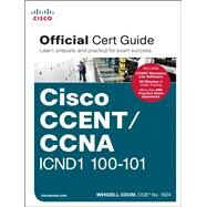 CCENT/CCNA ICND1 100-101 Official Cert Guide by Odom, Wendell, 9781587143854