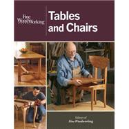 Fine Woodworking Tables and Chairs by Fine Woodworking, 9781627103855