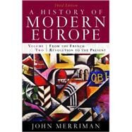 HIST OF MOD EUR 3E V2 PA by MERRIMAN,JOHN, 9780393933857
