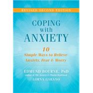 Coping With Anxiety by Bourne, Edmund; Garano, Lorna, 9781626253858