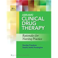 Abrams Clinical Drug Therapy 10e Text & PrepU Package by Abrams, Anne C., 9781469833859