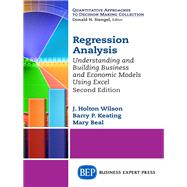 Regression Analysis by Wilson, J. Holton, 9781631573859