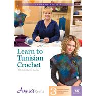 Learn to Tunisian Crochet With Instructo: With Instructor Kim Guzman by Guzman, Kim, 9781573673860