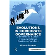 Evolutions in Corporate Governance by Dempsey, Alison L., 9781906093860