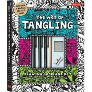 Art of Tangling Drawing Book & Kit: Inspiring Drawings, Designs & Ideas for the Meditative Artist by Walter Foster Creative Team, 9781600583872