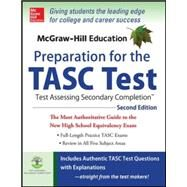 McGraw-Hill Education Preparation for the TASC Test 2nd Edition The Official Guide to the Test by Zahler, Kathy, 9780071843874