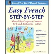 Easy French Step-by-Step by Rochester, Myrna Bell, 9780071453875