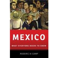 Mexico What Everyone Needs to Know® by Camp, Roderic Ai, 9780199773879